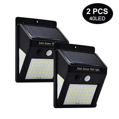 Motion Sensor Solar Light - Joy Values