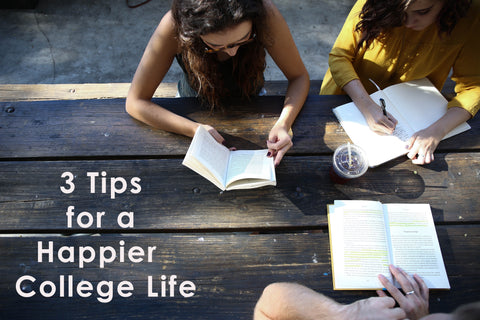 tips for a healthier college life