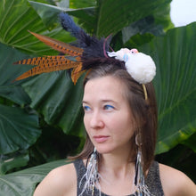 Load image into Gallery viewer, Feather Headband