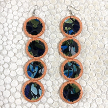 Load image into Gallery viewer, Many Moons Earrings- BLACKLIGHT