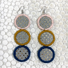 Load image into Gallery viewer, Moon Phase Earrings- BLACKLIGHT