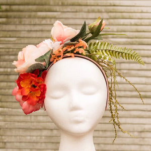 Flower Headband-REVERSIBLE