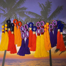 Load image into Gallery viewer, Sunset TASSEL Earrings