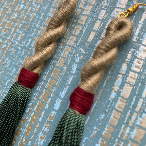 Twist Tassel Earring
