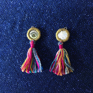 the LIDIA mini eye earring