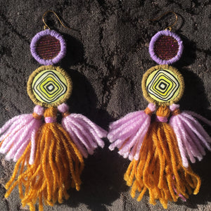 the Erika earring- REVERSIBLE