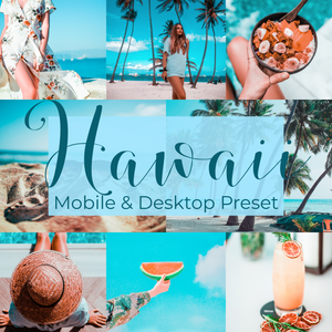Hawaii presets collection - is presets
