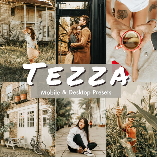 Tezza lightroom presets - is presets