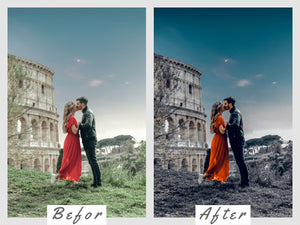 Dark Blue Lightroom Presets