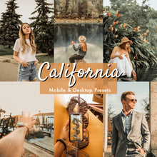 Load image into Gallery viewer, California Lightroom Presets