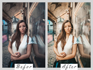 5 Mobile Lightroom Presets Rose Gold - Lifestyle Blogger Filter for Photo, Instagram Presets, Lightroom Mobile, Presets Mobile Lightroom