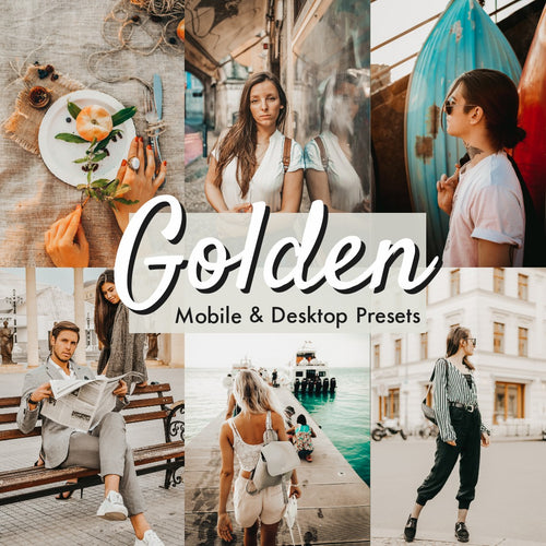 Golden Lightroom Presets - is presets