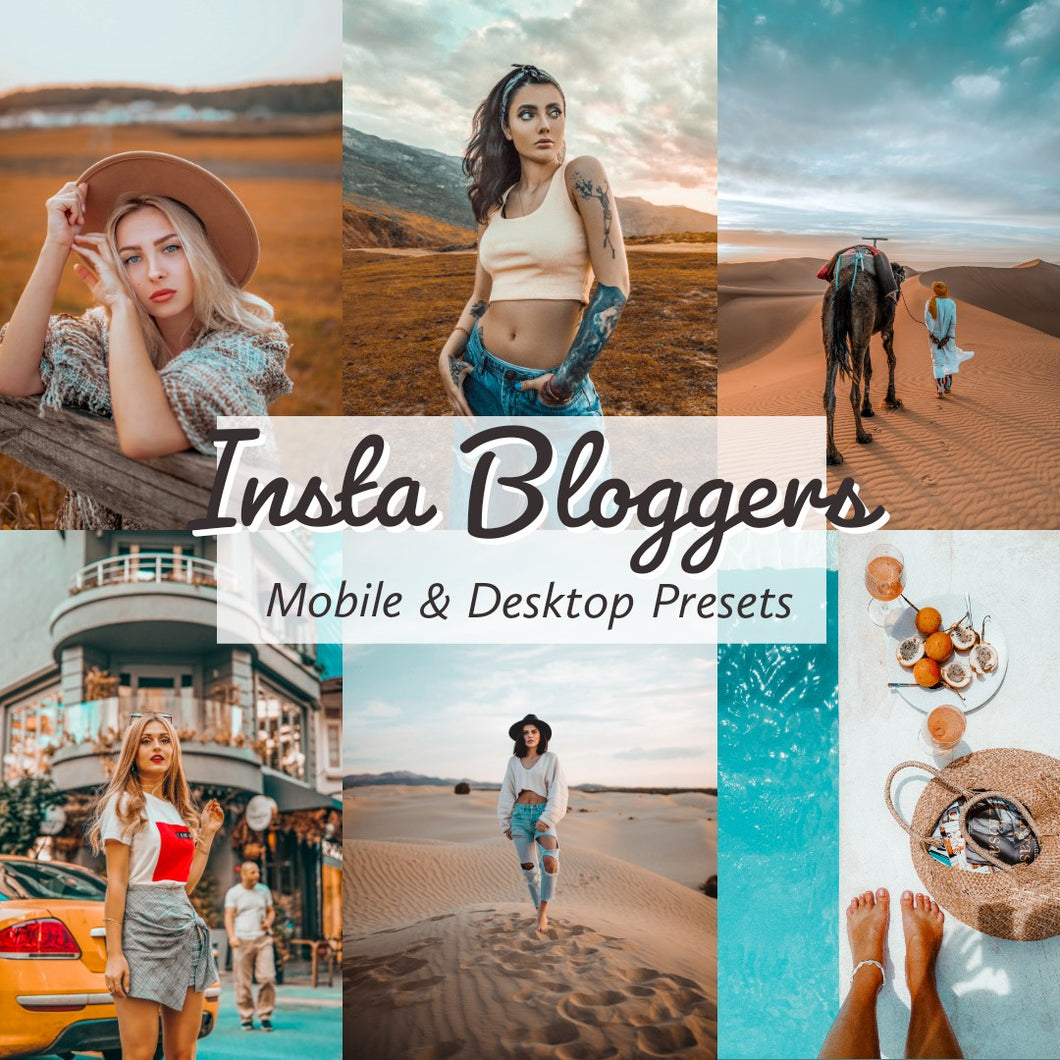 insta bloggers lightroom presets
