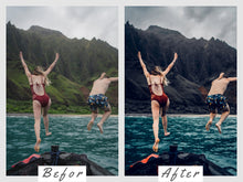 Load image into Gallery viewer, Dark Blue Lightroom Presets
