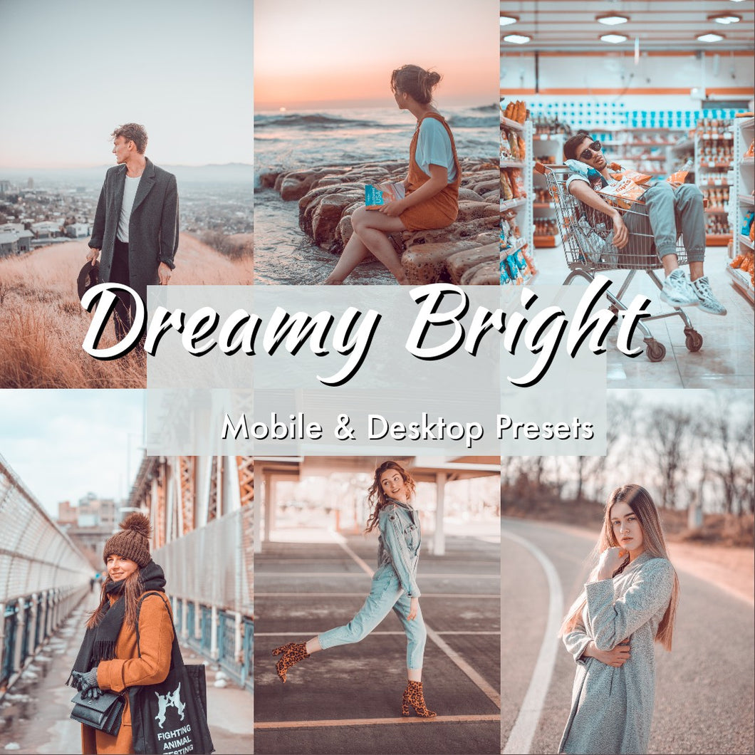 Dreamy Bright Lightroom Presets - is presets