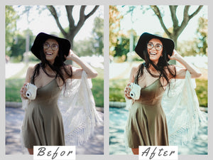 Presets Lightroom Mobile, Mobile Preset, Instagram Preset, Lightroom DNG Preset, Evergreen Desktop Presets