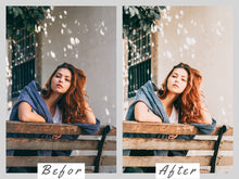 Load image into Gallery viewer, Presets Lightroom Presets Mobile, Bright Airy Preset, Instagram Theme, Lifestyle Presets for Bloggers, Lightroom Mobile Presets