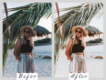 Load image into Gallery viewer, 5 Lightroom Mobile Presets, Vibrant Film Mobile Lightroom Presets, Presets Lightroom, Instagram Presets, Lifestyle Preset Travel Blogger