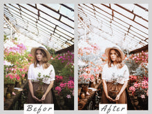 Load image into Gallery viewer, Winter Mobile Presets, Lightroom Presets, Instagram Theme, Presets Lightroom Mobile, Lightroom Mobile Preset, Blogger Mobile Photo Filter