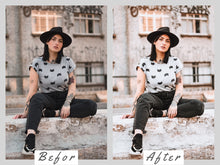 Load image into Gallery viewer, Lightroom Presets Mobile, Bright Cozy Instagram Preset, Lightroom Mobile Presets, Lifestyle Photo Presets for Home Blogger Filter DNG