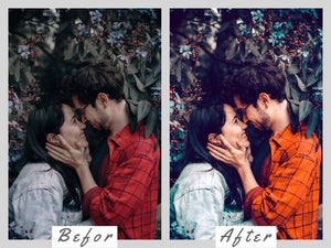 Spring Kiss Mobile & Desktop Lightroom Presets, pastel LR preset, Portrait Bright Filter, DNG Lifestyle Best blogger Instagram Theme