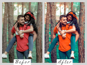 5 Mobile Lightroom Instagram Blogger Presets - fall in love