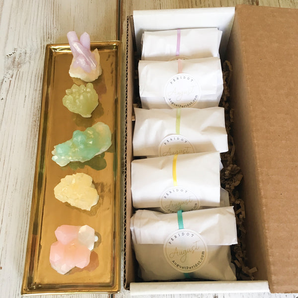 Gift set of 5 hand soaps