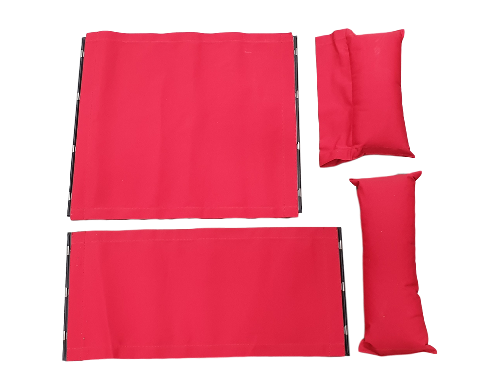 Barnes Cover Set Tabasco Red