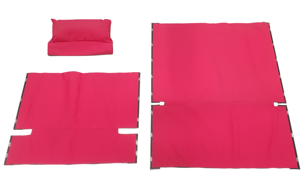 Recliner Cover Set Tobasco Red