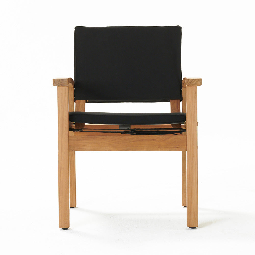Barker Chair Black (Frame + Cover)