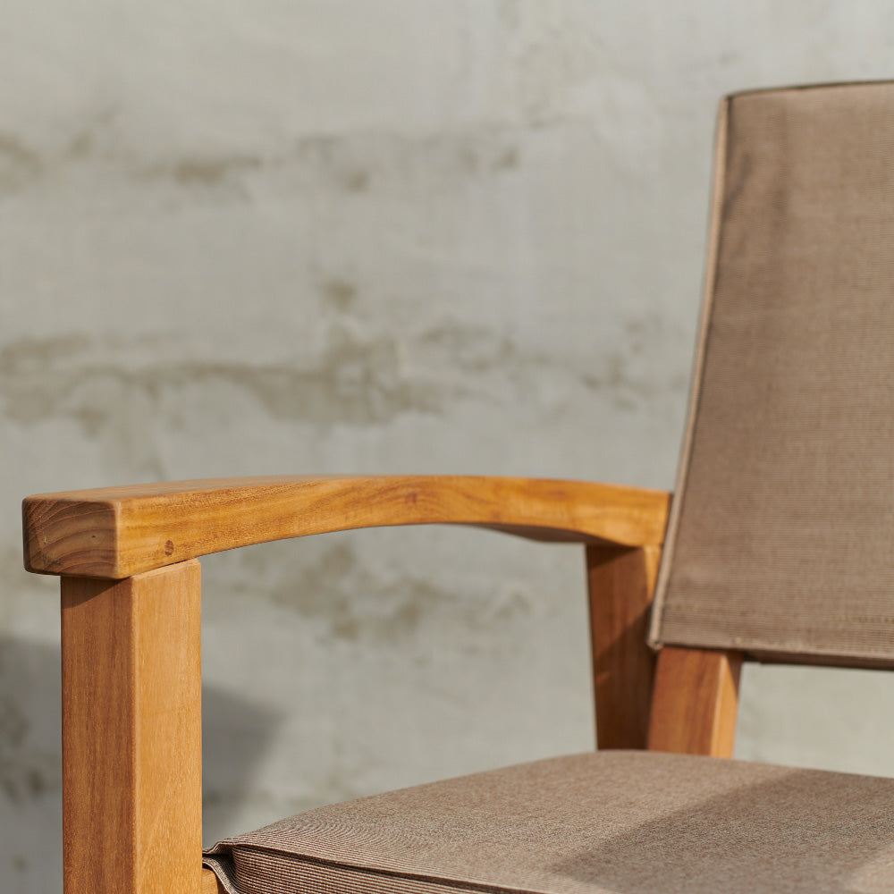 Barker Chair Latte (Frame + Cover)