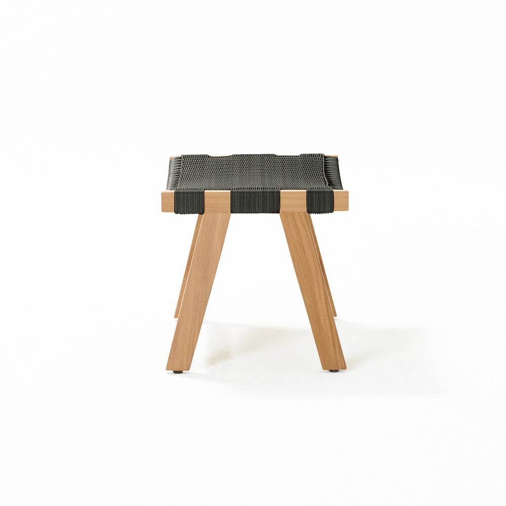 Jackson Footstool - Shadow Grey