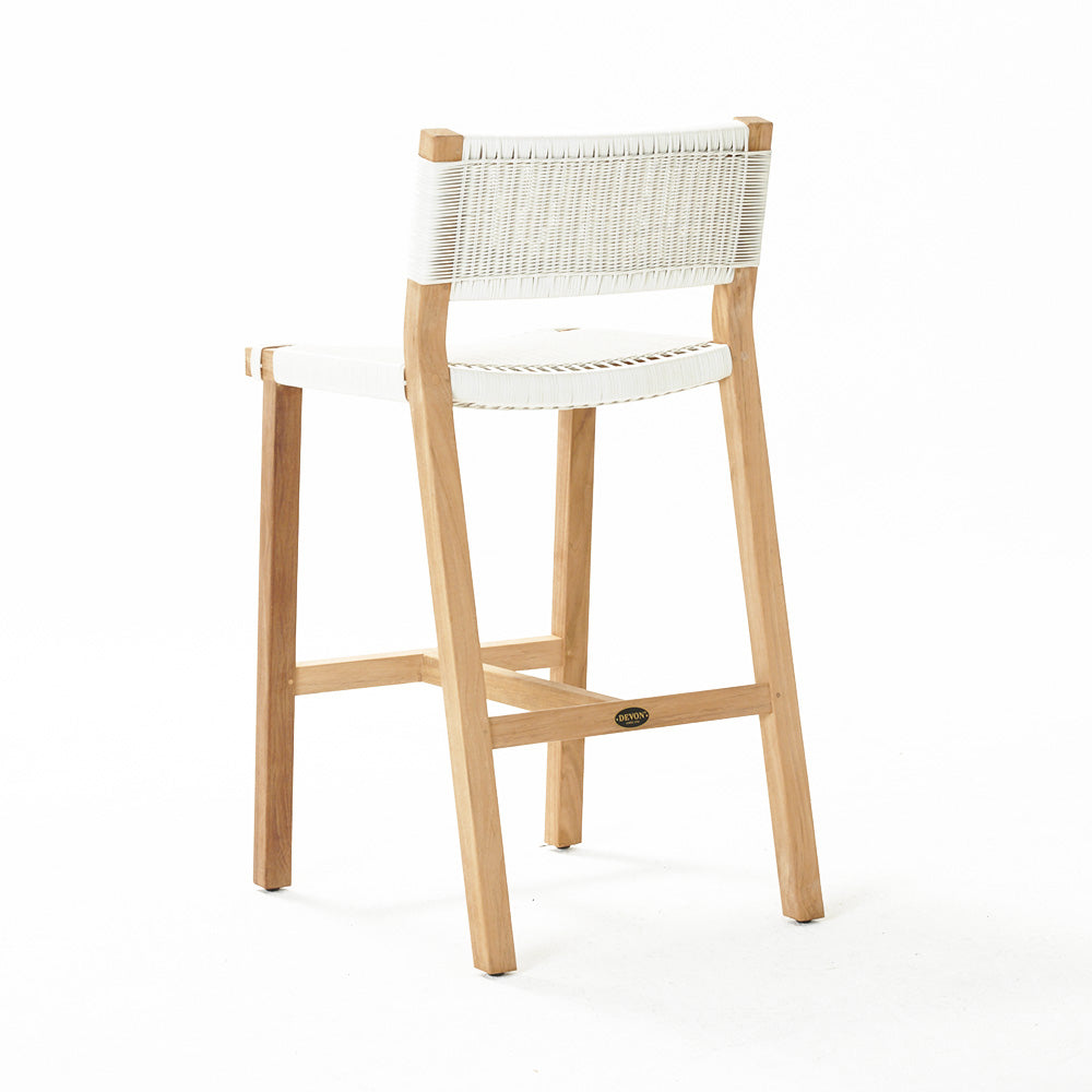 Marsden Bar Stool - White Wash