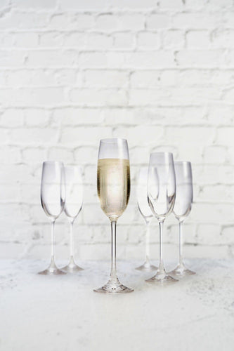 Salut Champagne Glasses Set - 6pcs