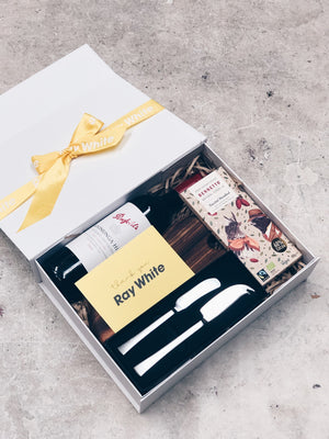 Ray White Commercial Noosa White gift box - Tracey Ryan