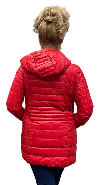 Long Ultralight Spring Puffer Jacket. Style PZ8658303