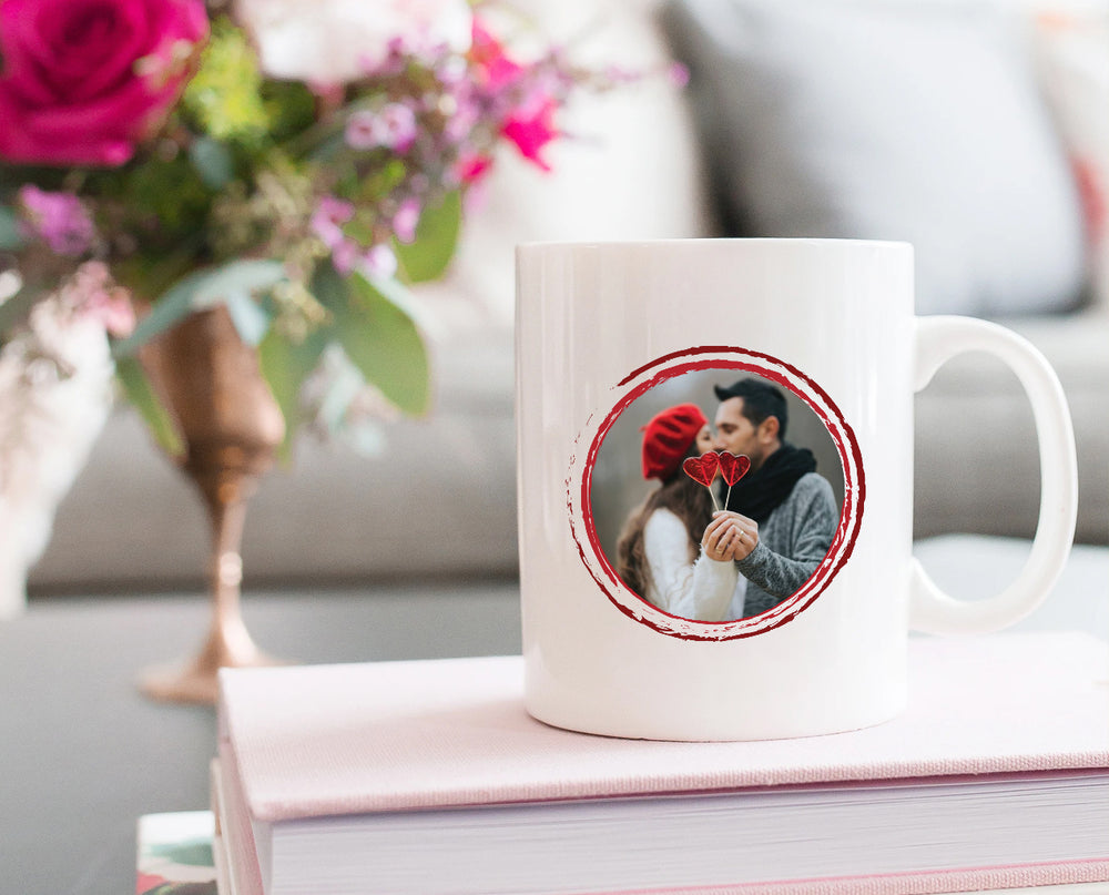 Personalized Photo Love Couple Mug