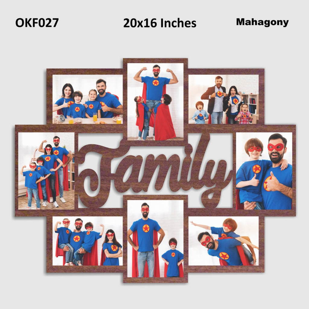 Photo frame for family