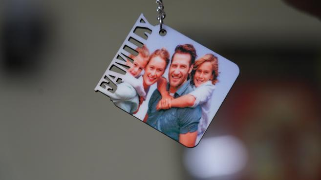 Personalised Family keychain