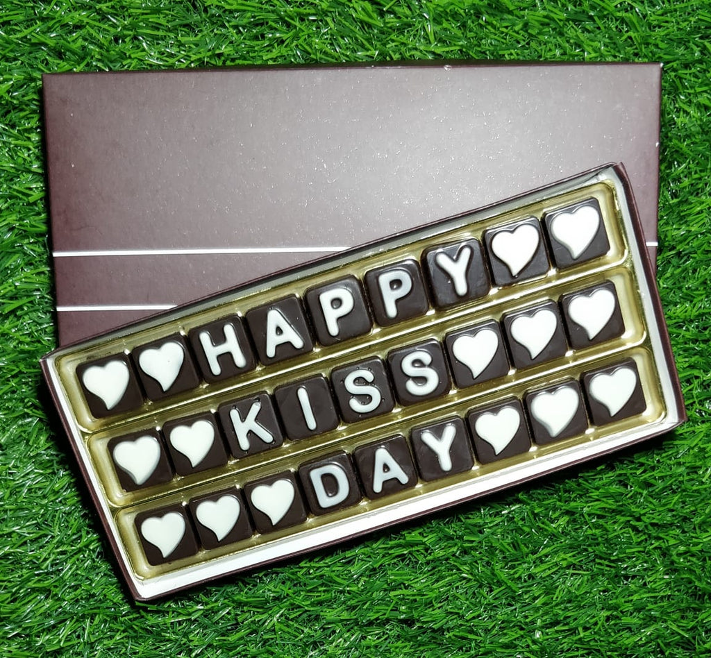 Kiss Day special chocolate