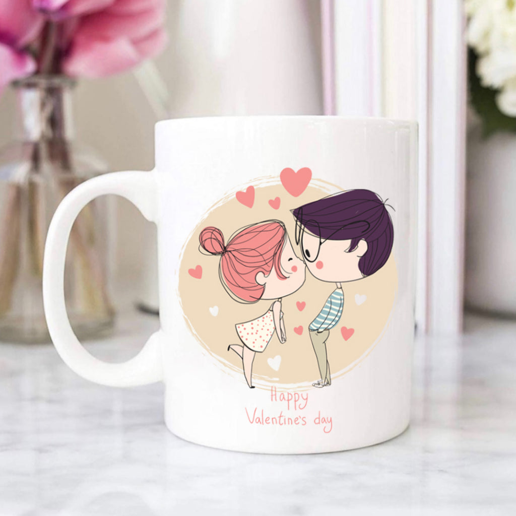 Personalised Photo Heart Mug