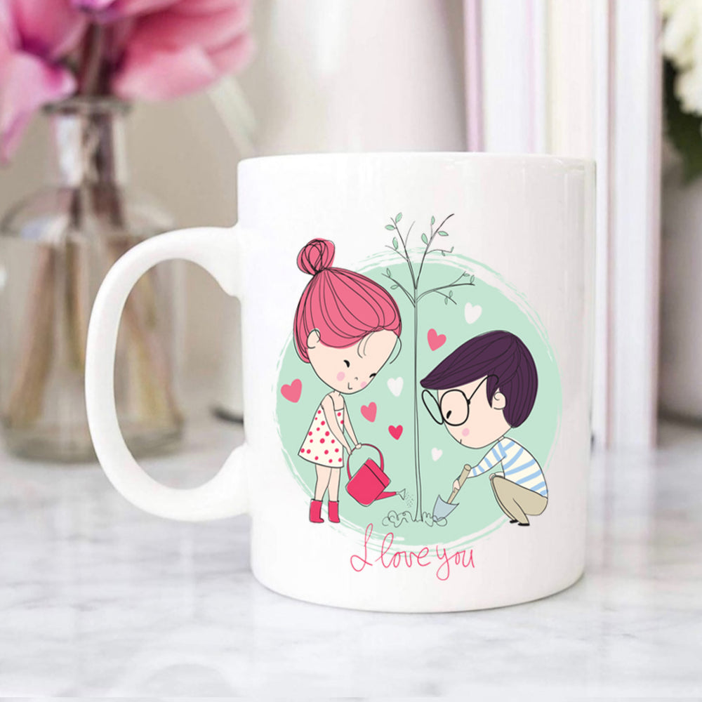 Love Forever Personalised Photo Mug