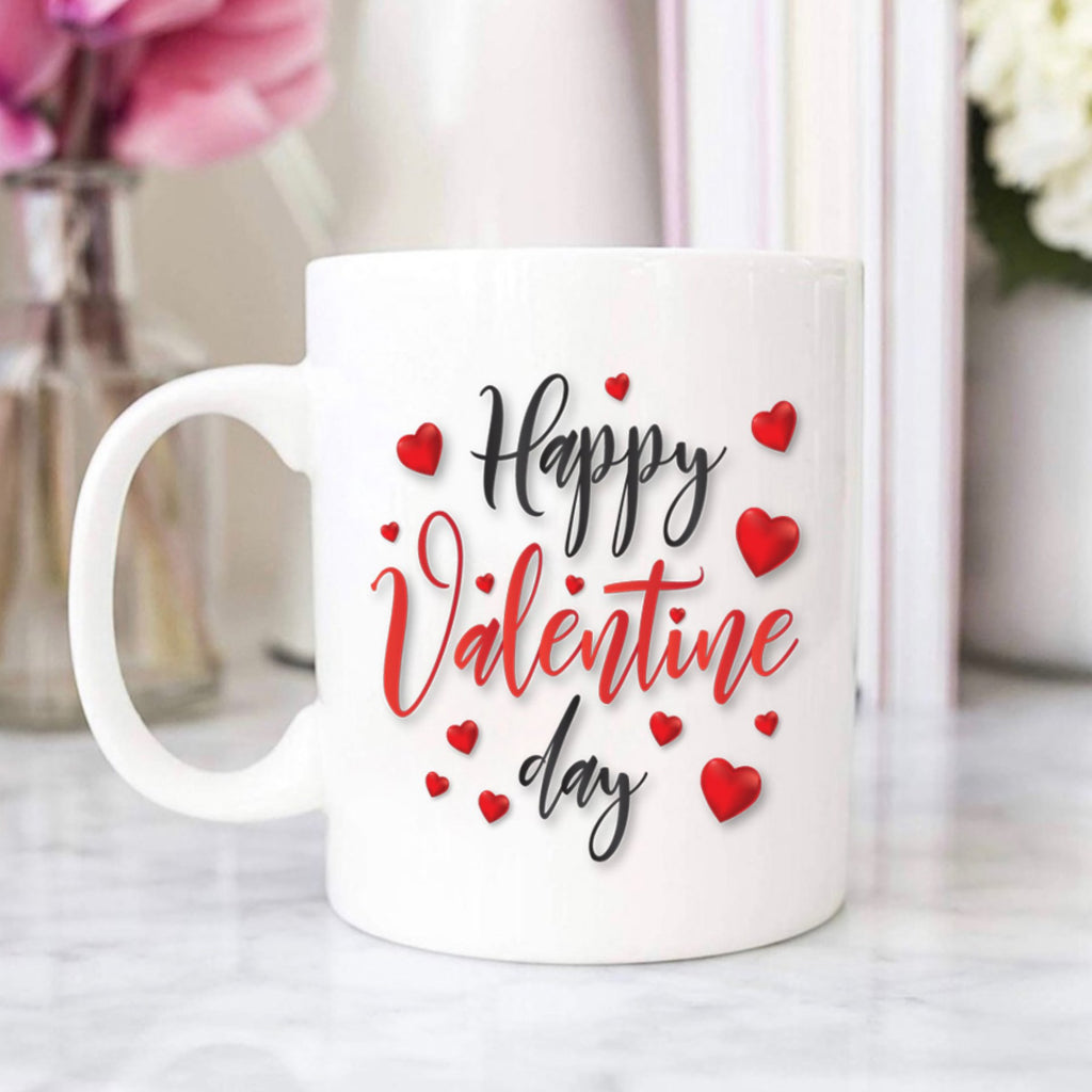 Happy Valentine Day Customisable Mug