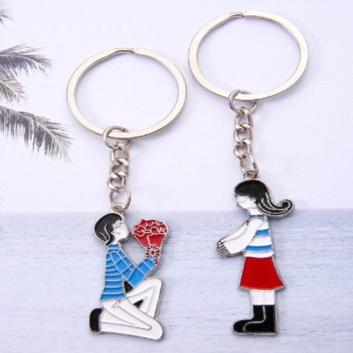 Love Couple Keychain