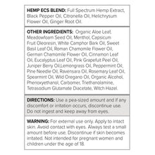 Load image into Gallery viewer, UltraCell - Full Spectrum Hemp CBD Topical 2oz (60mL)