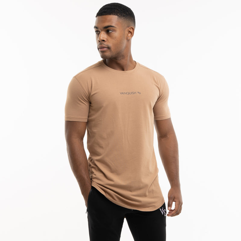 Vanquish Core Camel Short Sleeved T Shirt 1枚目の画像