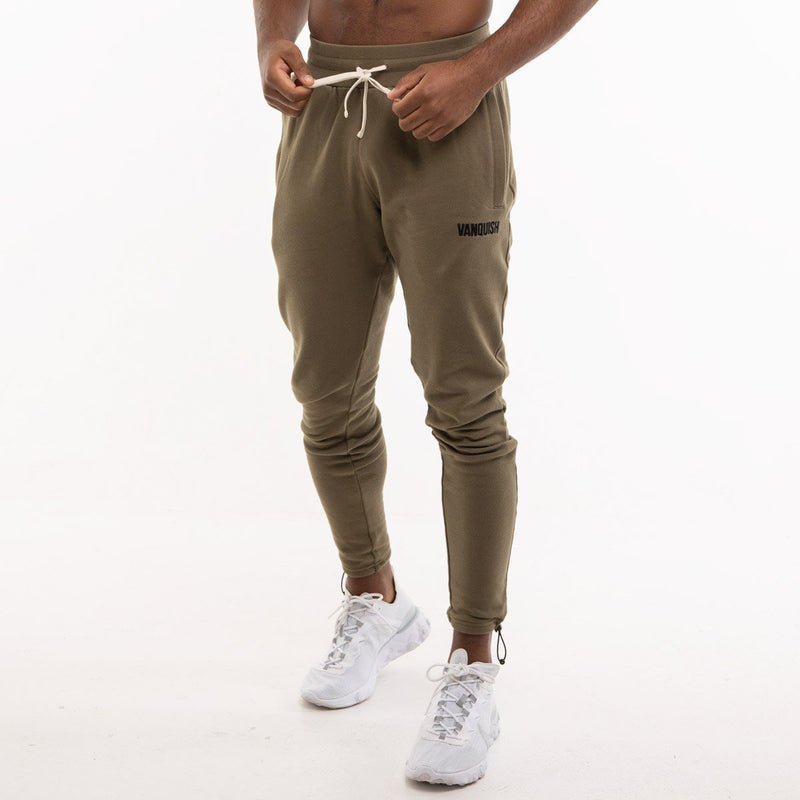 Vanquish Warm Up Project Olive Tapered Sweatpants 5枚目の画像