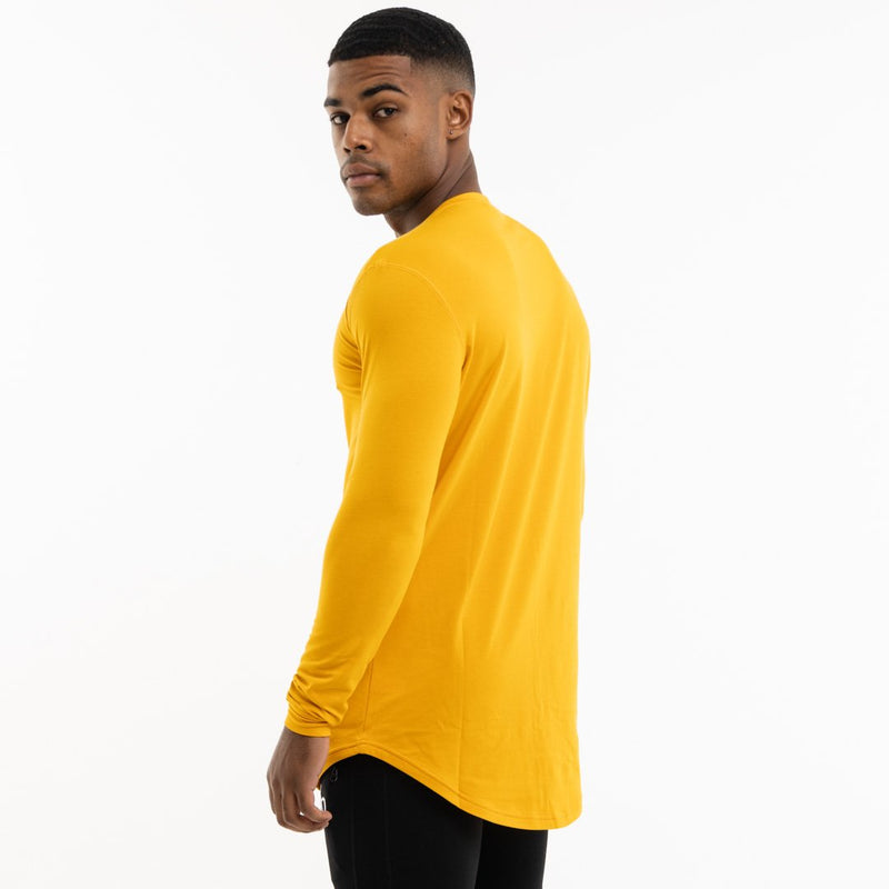 Vanquish Core Men's Yellow Long Sleeved T Shirt 4枚目の画像