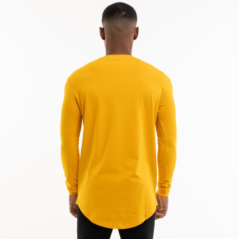 Vanquish Core Men's Yellow Long Sleeved T Shirt 5枚目の画像