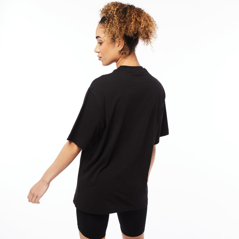 Vanquish Unisex  Box Logo Black Oversized T Shirt 3枚目の画像